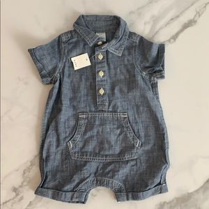 Baby Gap 3-6 months Denim body Suit